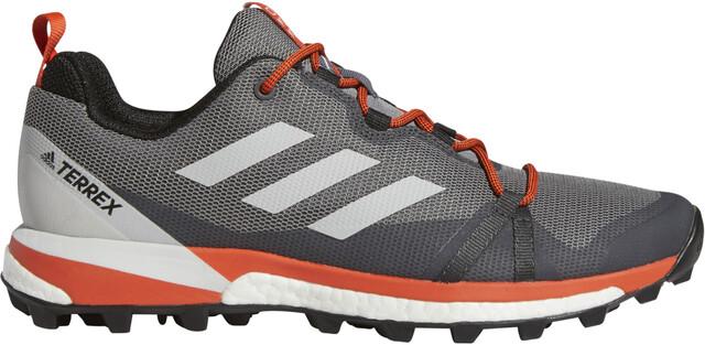 adidas TERREX Skychaser LT Low Cut Schuhe Herren grey threegrey oneactive orange